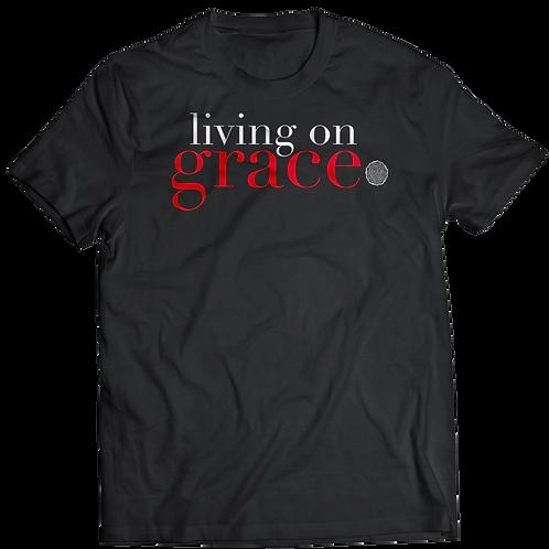 Living On Grace T-Shirt (Black)