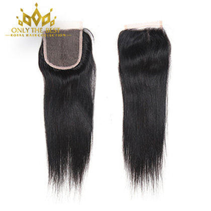 Platinum Straight Lace Closure