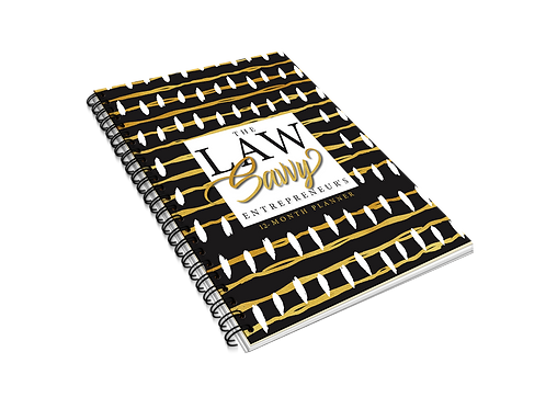 The Law Savvy Entrepreneur's 12-Month Planner