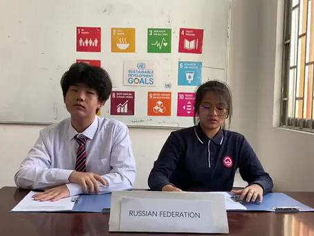 FIFA Students participate in Model UN Event