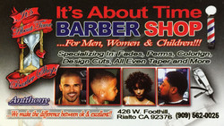 It's About Time Barber Shop