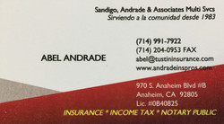 Sandigo, Andrade & Associates Multi Svcs