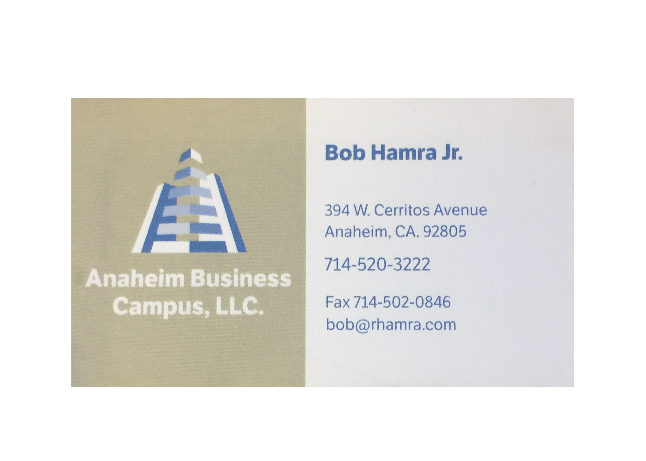 Anaheim Business Campus LLC