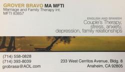 Grover Bravo MA