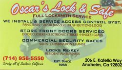 Oscar's Lock & Safe
