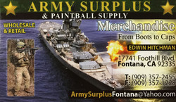 Army Surplus & Paintball Supply