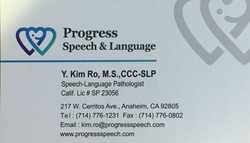 Progress Speech & Language