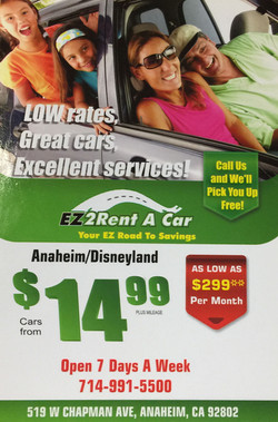 EZ2Rent A CAr