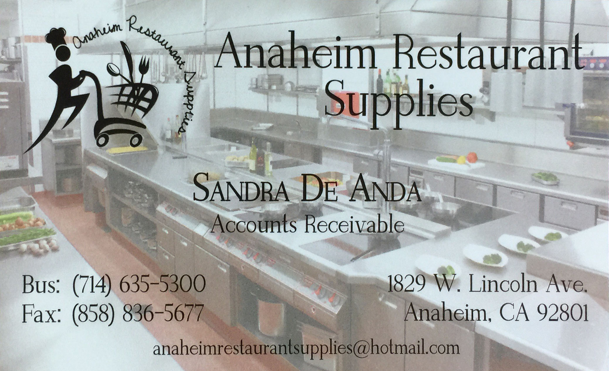 Anaheim Restaurant Supplies