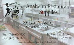 Anaheim Restaurant Supplies