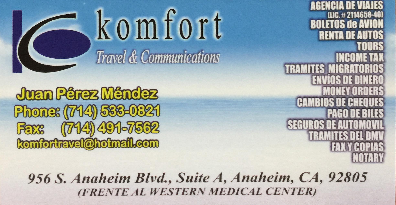 Komfort Travel