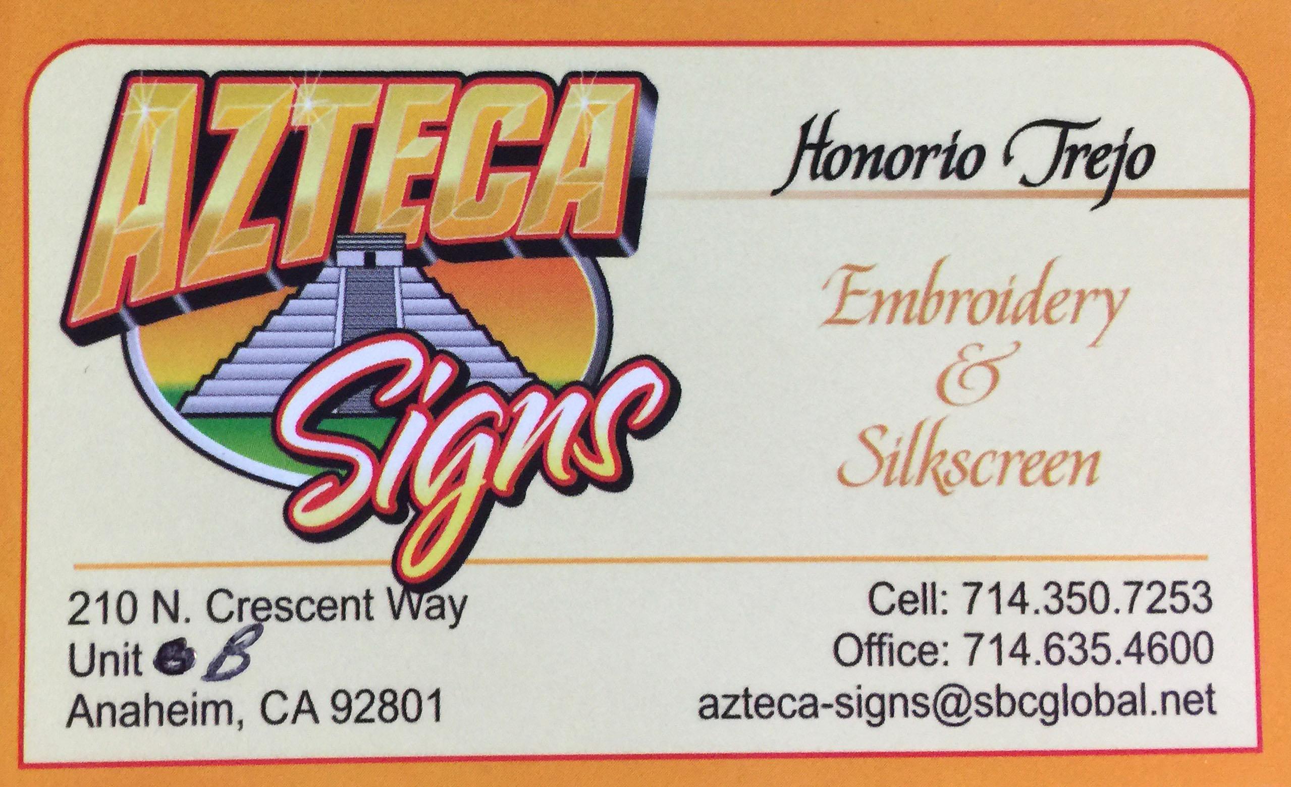 Azteca Signs