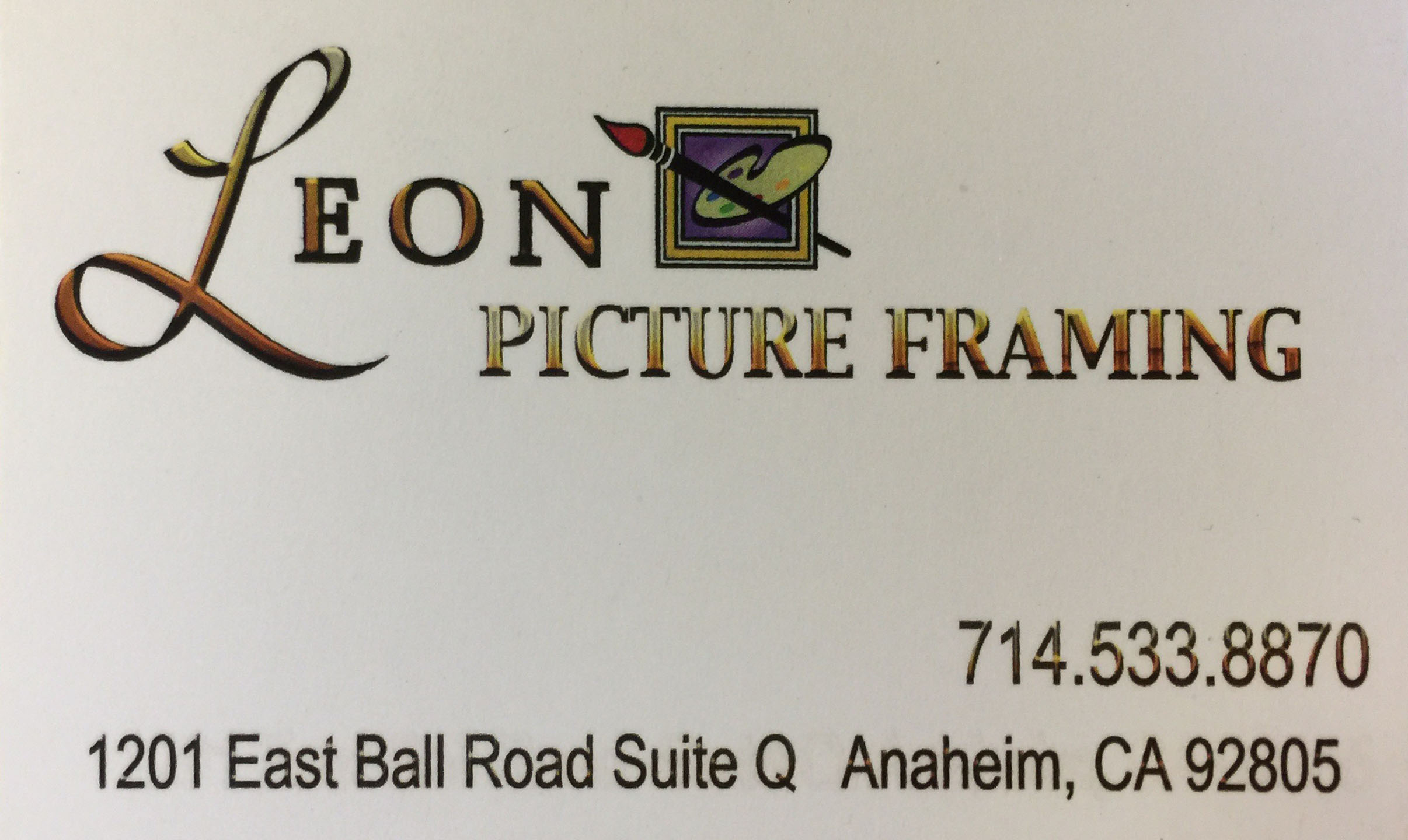 Leon Picture Framing