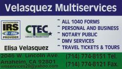 Velasquez Multiservices