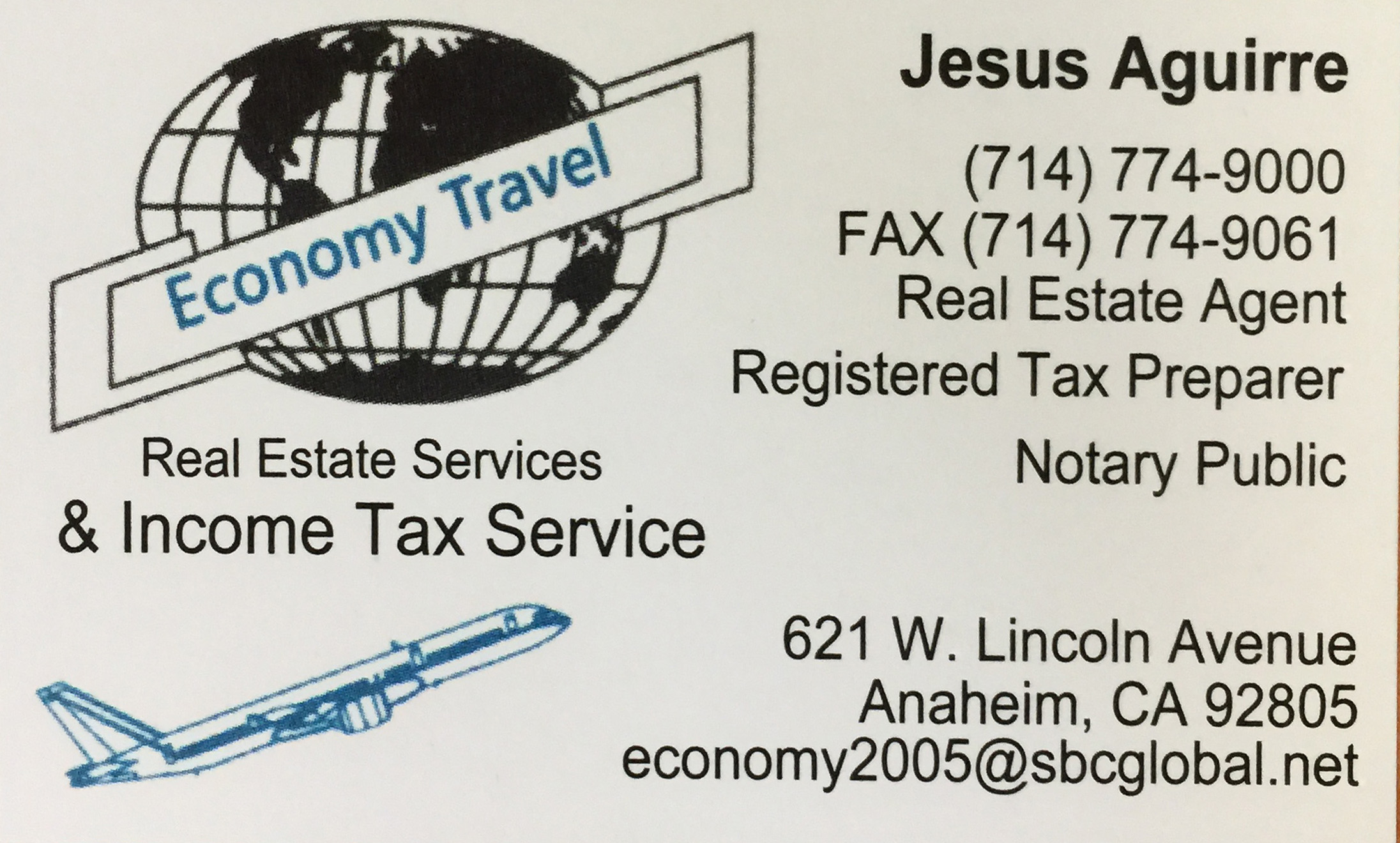 Real Estate Services & Income Tax Services