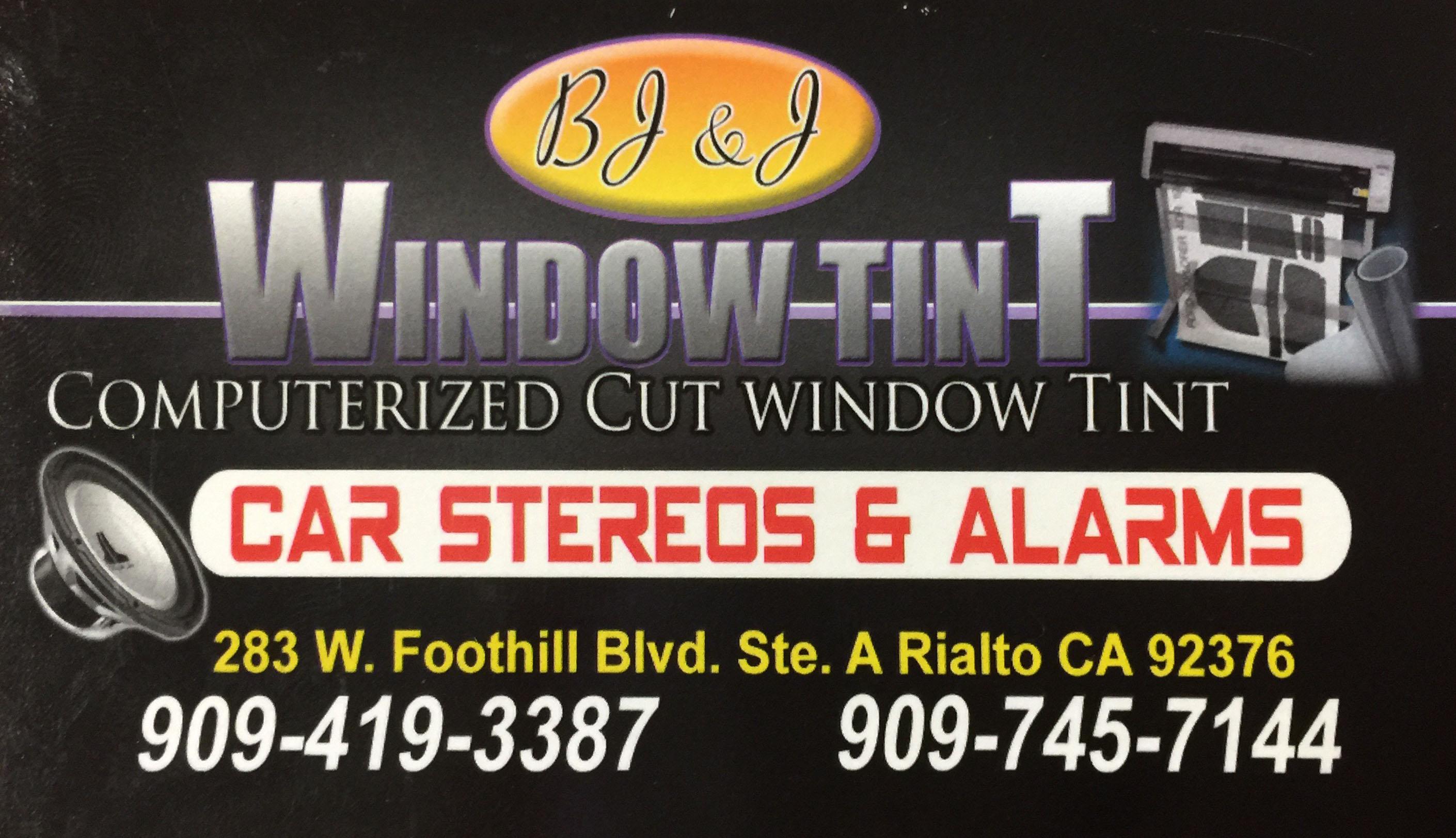 BJ&J Window Tint