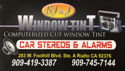 BJ&J Window Tint