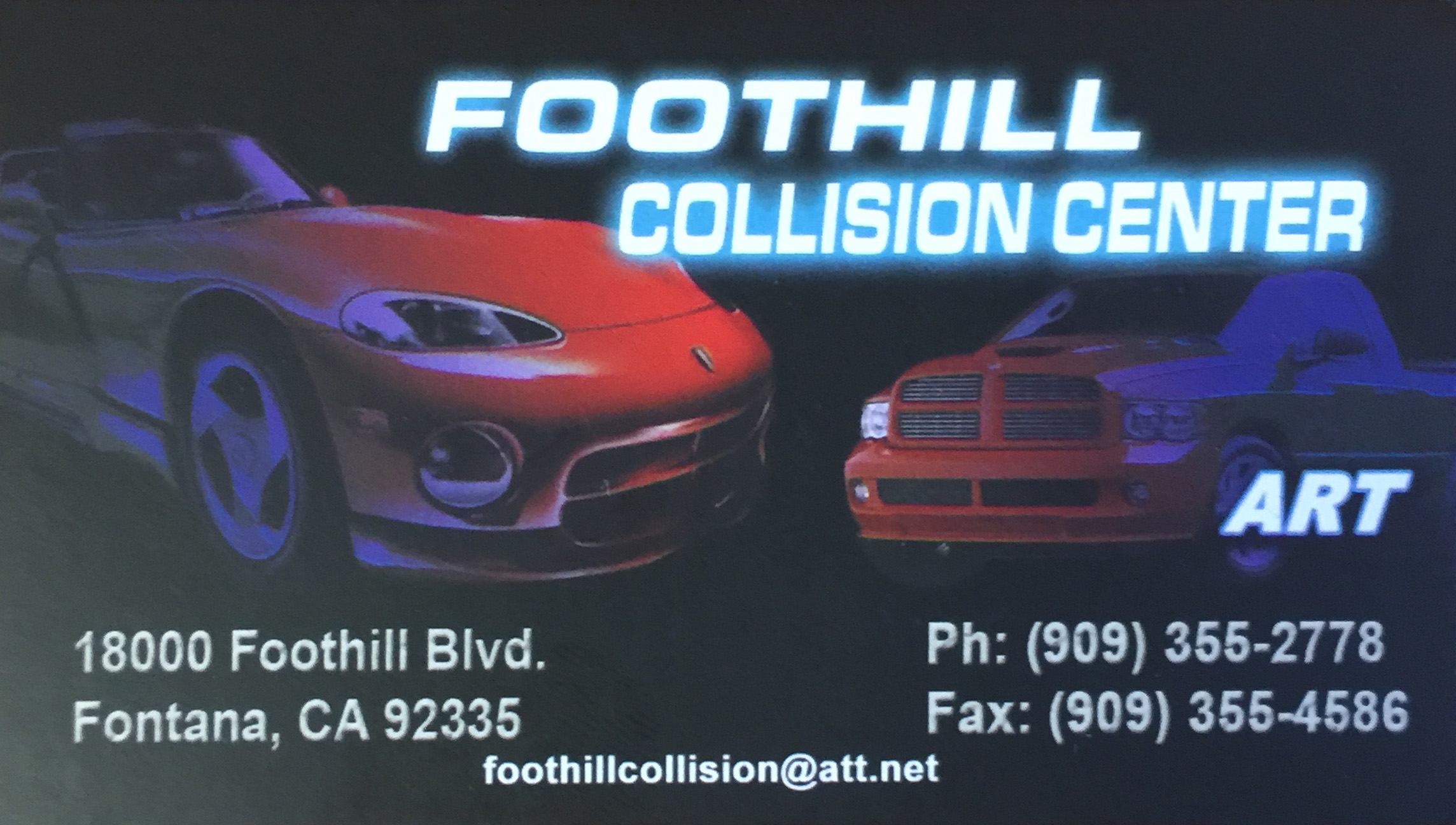 Foothill Collision Center