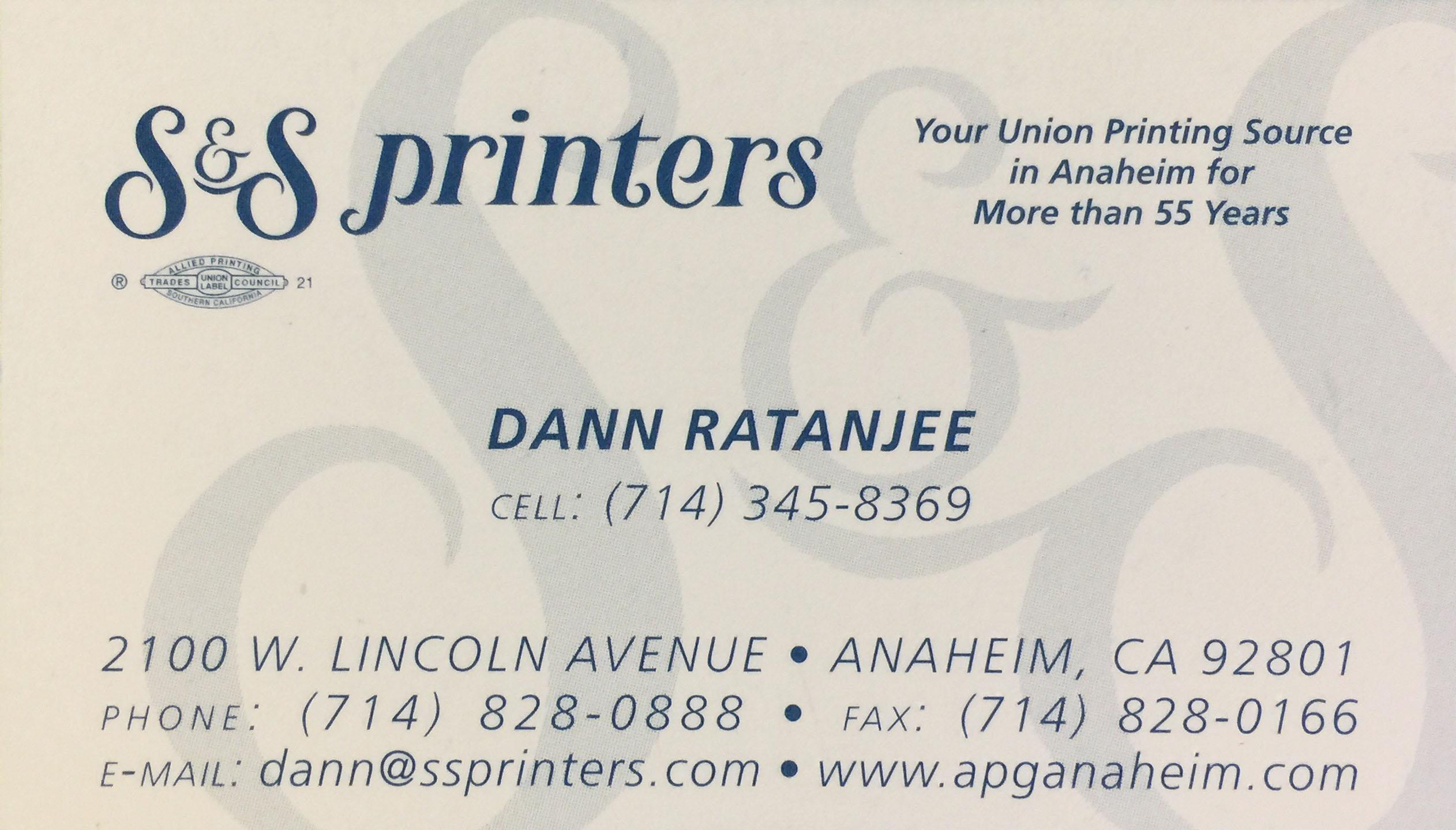 S&S Printers
