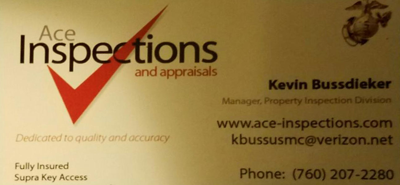ACE Inspection and Appraisals