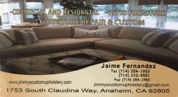 Jimmy's Custom Upholstery
