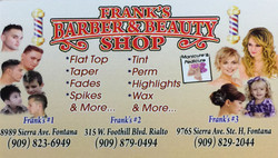 Frank's Barber&Beauty Shop