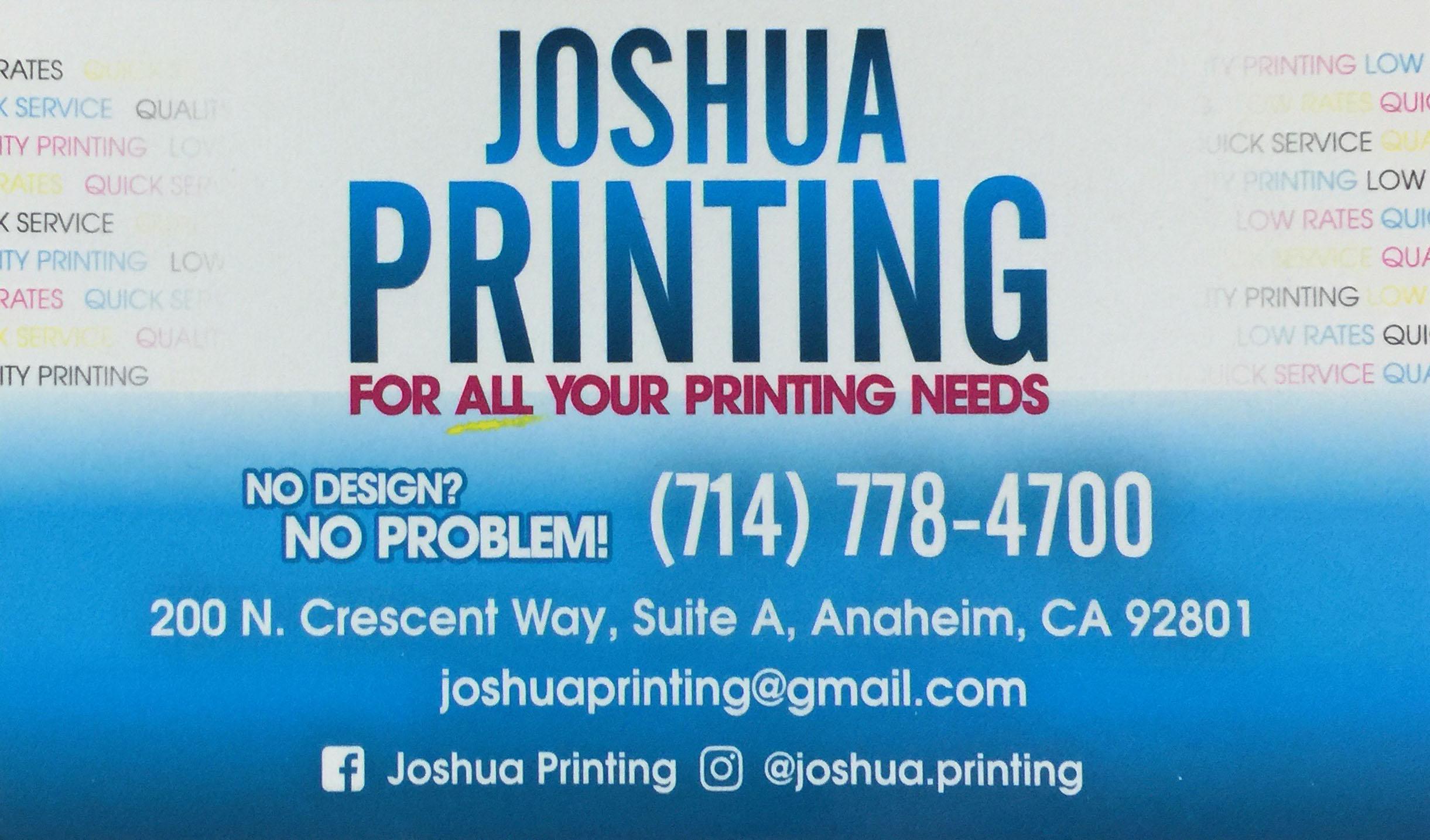 Joshua Printing