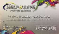 Help U Save Printing Services