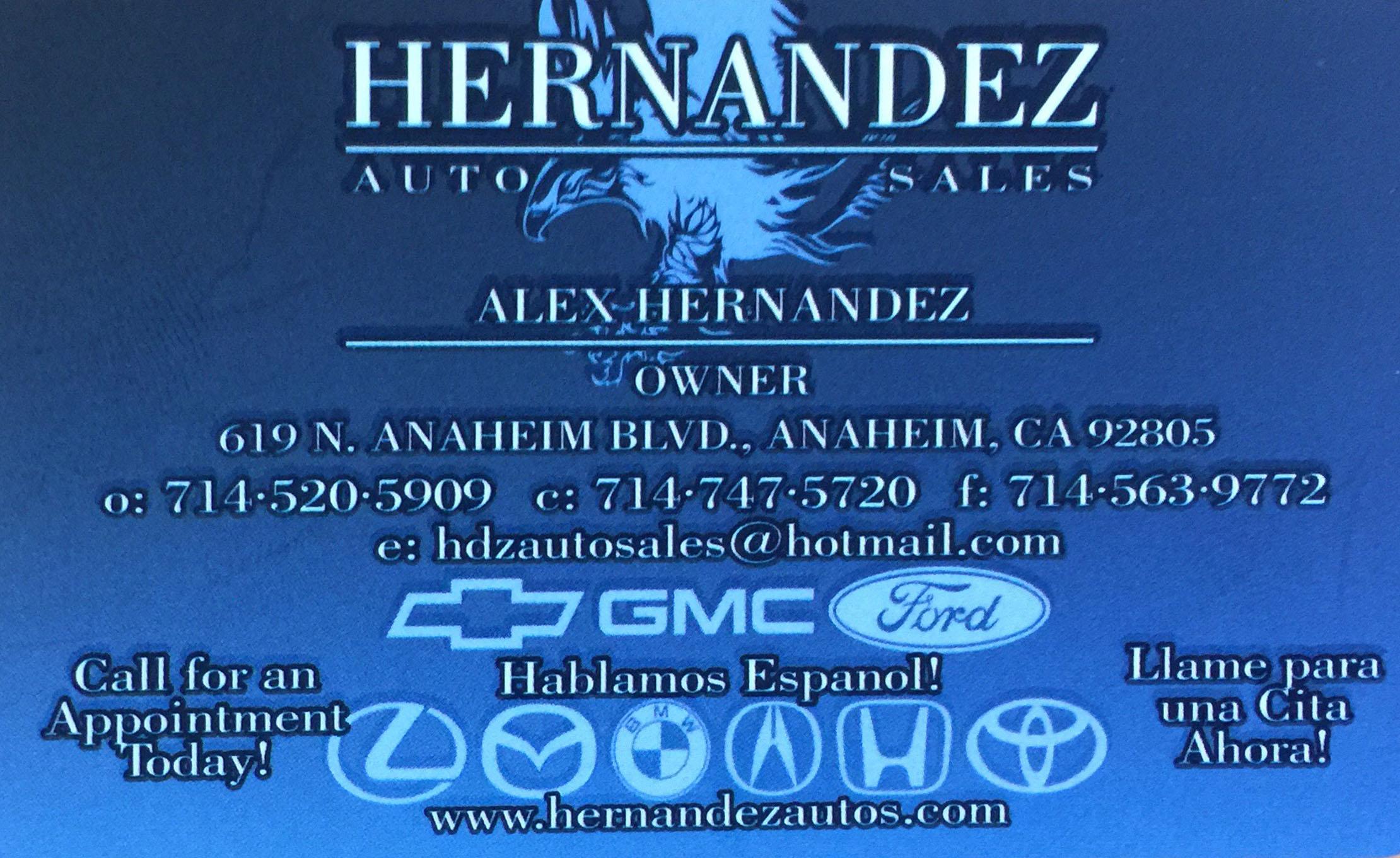 Hernandez Auto Sales