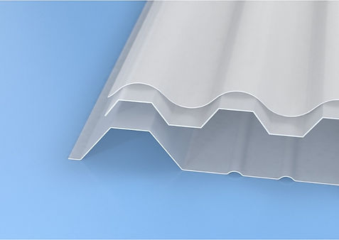 TOPLIGHT: solid corrugated polycarbonate sheets