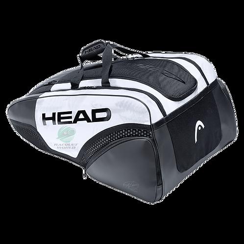 Head Djokovic 12 Racquet Monstercombi 2021 - White/Black
