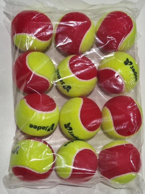 ITF Approved Low Compression Balls - Stage 3 (Red) Doz