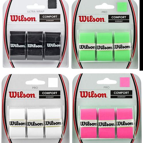 Wilson Comfort Overgrip - 3 Pack