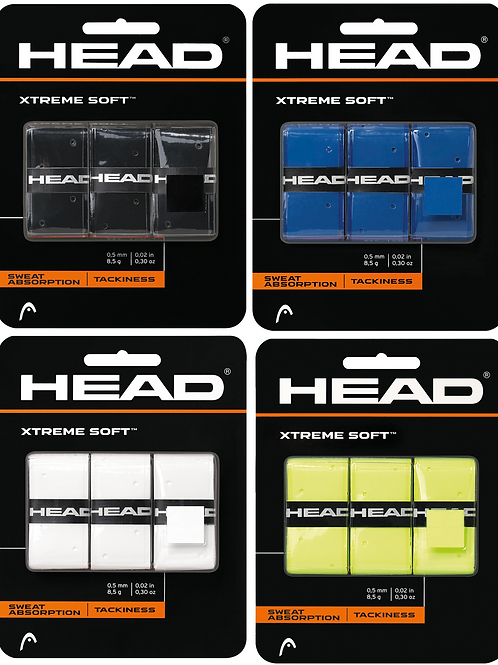 Head Extreme Soft Overgrip - 3 Pack