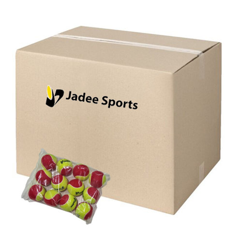 ITF Approved Low Compression Balls - Stage 3 (Red) Carton