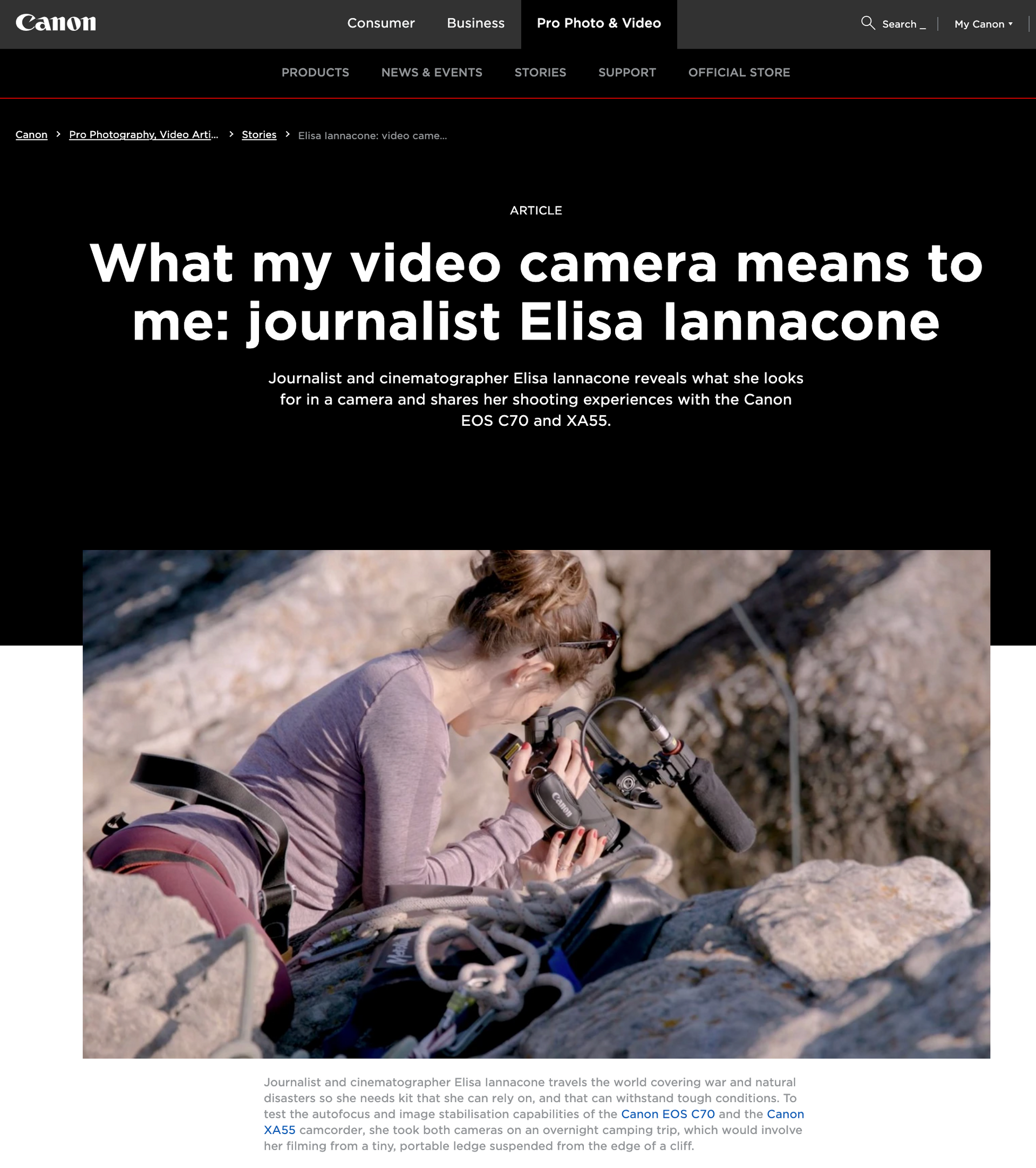 CANON Journalism Review