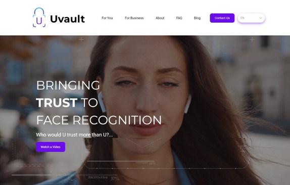 Uvault Website
