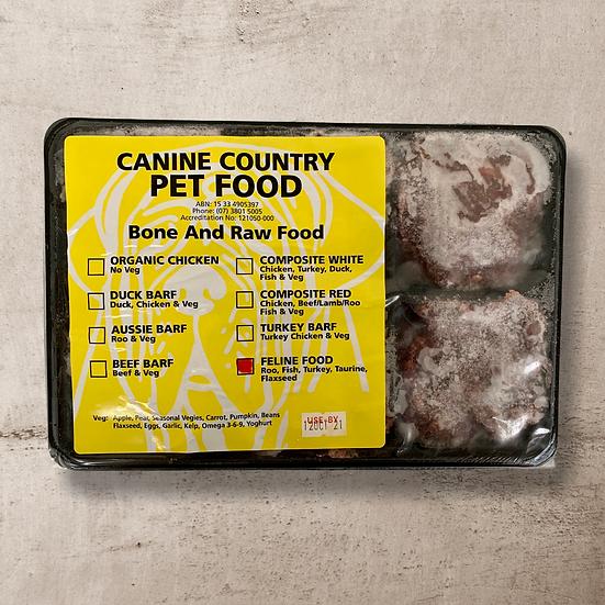 Feline Roo for Cats 1kg Portion Pack INSTORE ONLY