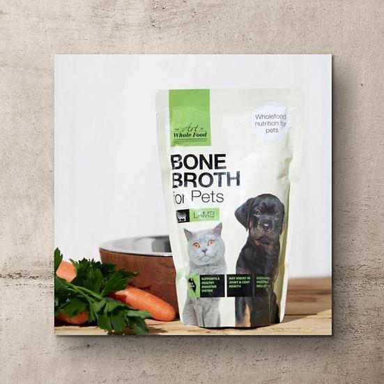 Lamb Bone Broth for Pets 500g