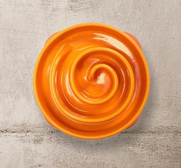 Fun Feeder Mini Orange Bowl by Outward Hound