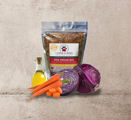 Vita Veggie Mix 700g ~ I Love a Dog PICK UP ONLY