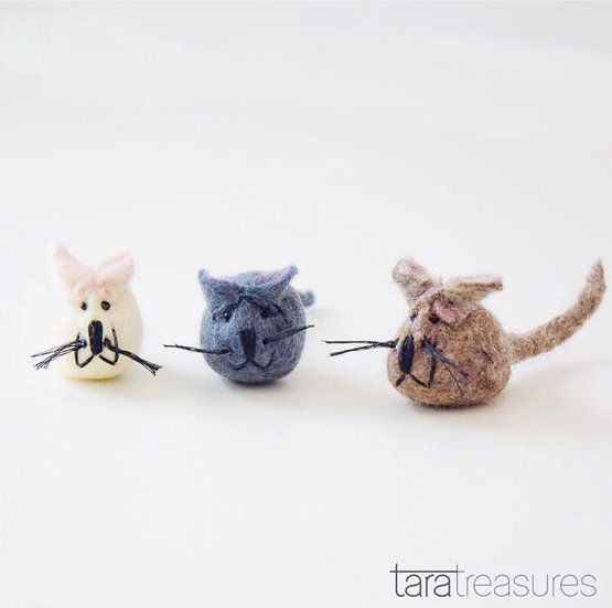 Felt Mouse Toy for Cats