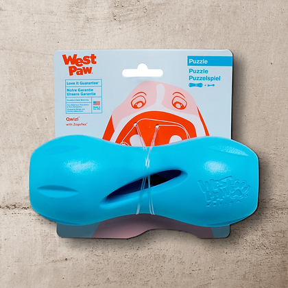 West Paw Qwizl Treat Dispensing Toy