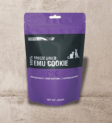 Freeze Dry Australia Emu Cookies 100g