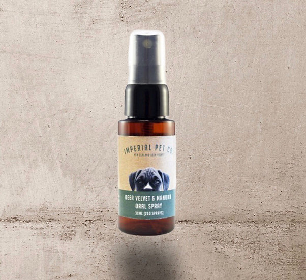 Imperial Pet Co. Oral Spray With Deer Velvet and Manuka 30ml