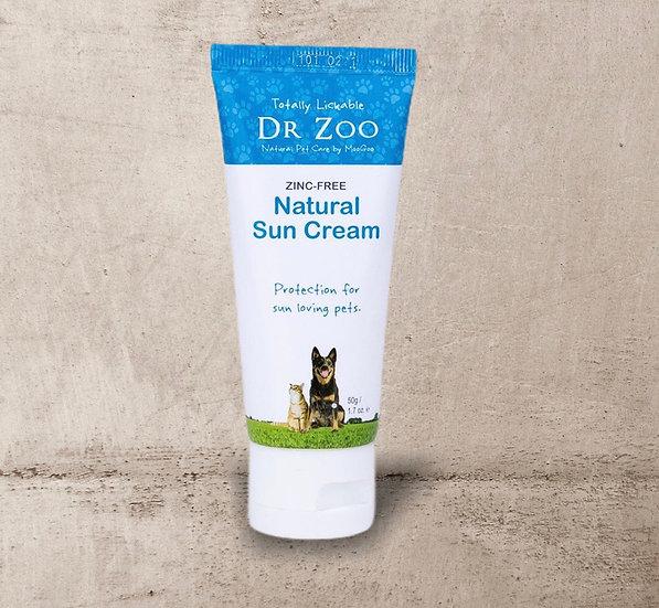 Natural Zinc-Free Sun Cream 50g