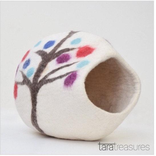 Tara Treasures Cat Cave - Tree of Life