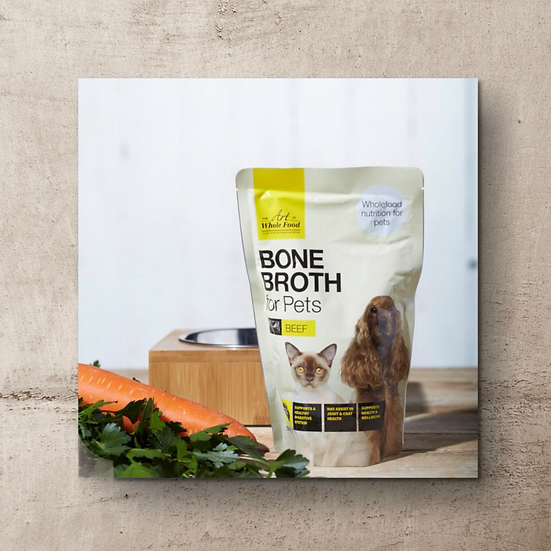 Beef Bone Broth for Pets 500g