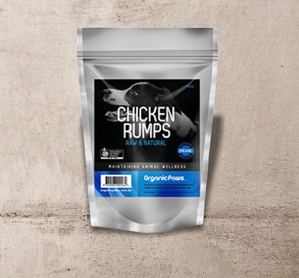 Organic Paws Chicken Rump Bones 900g