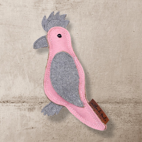 Outback Tails Felt Toy - Gertie Galah